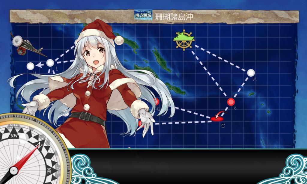 艦これ_2期_「第五航空戦隊」を再編せよ_「第五航空戦隊」珊瑚諸島沖に出撃せよ_5-2_02
