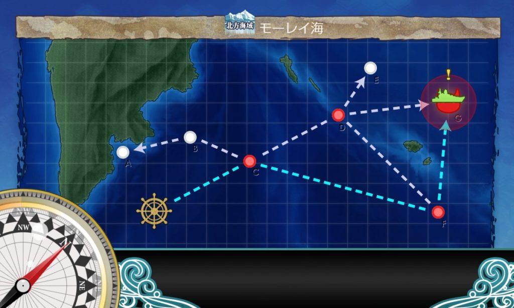 艦これ_kancolle_出撃_【節分任務】北方海域 威力偵察作戦_3-1_3-5_02