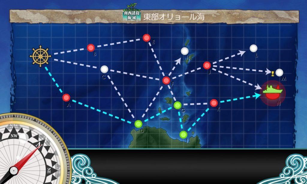 艦これ_kancolle_2期_二期_2-3_南西諸島海域_東部オリョール海