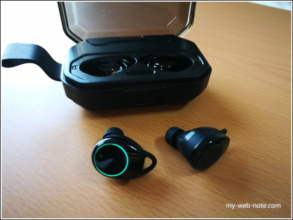 【コスパ重視!】安い「Hihiccup」Bluetoothイヤホン/イヤホン&ケース