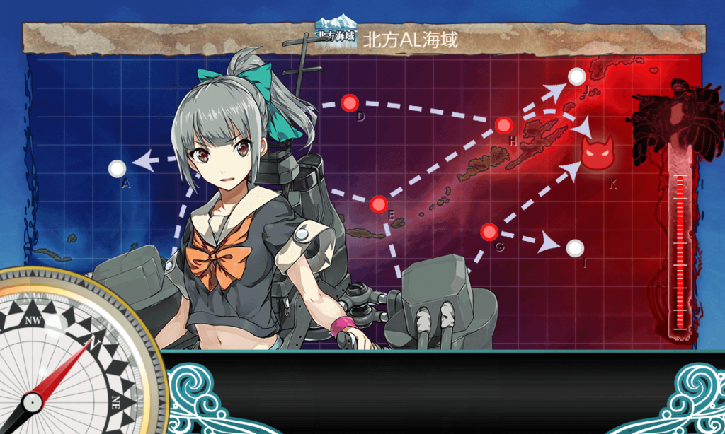 【艦これ・お正月任務】迎春!軽巡「夕張」、北へ!