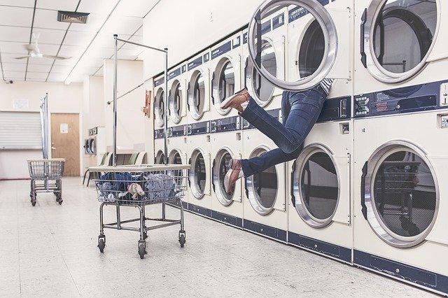洗濯機,コインランドリー