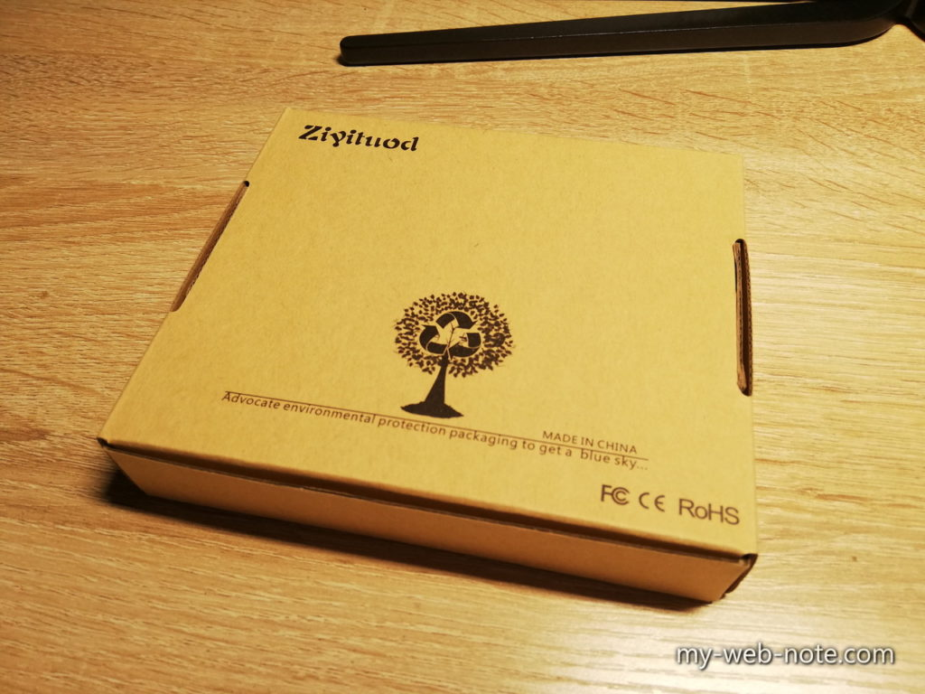 Ziyituod WiFi 無線LANカード / Bluetooth対応/梱包箱