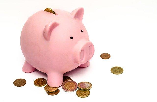 お金,貯金箱,豚