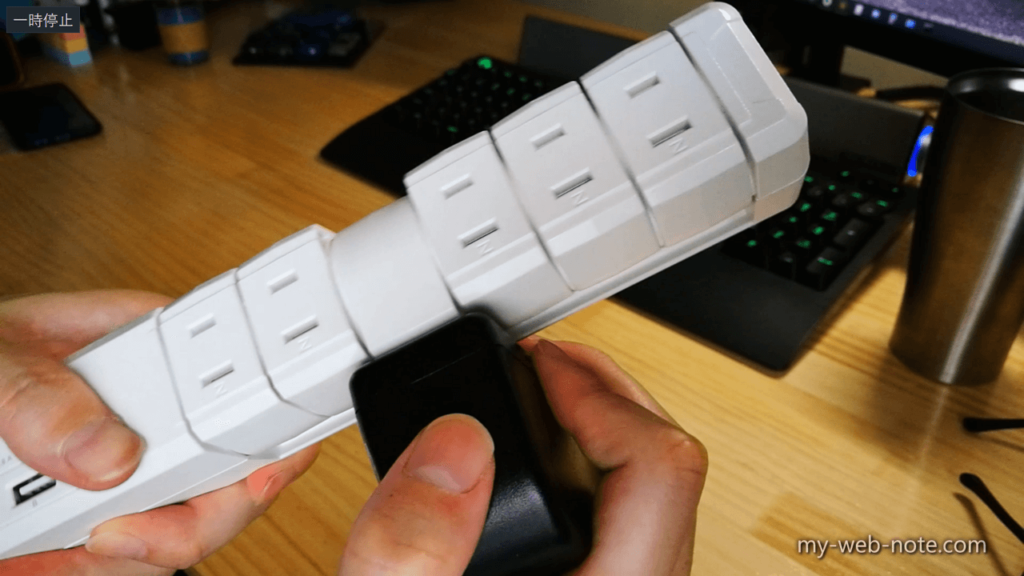 Fargo TAPKING USB 4.8 / コンセント挿入状態では回らない