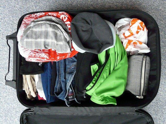 旅行,バック,荷物