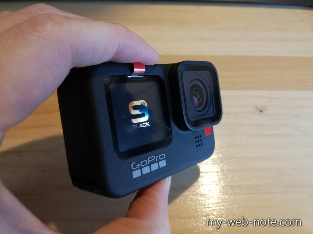 GoPro HERO 9 / 電源投入直後