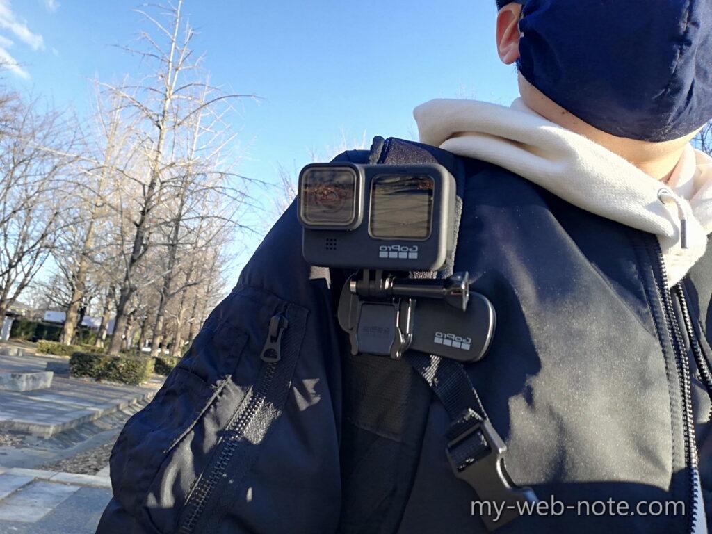 GoPro HERO 9 / マグネット付きスイベルクリップ / ベルト装着