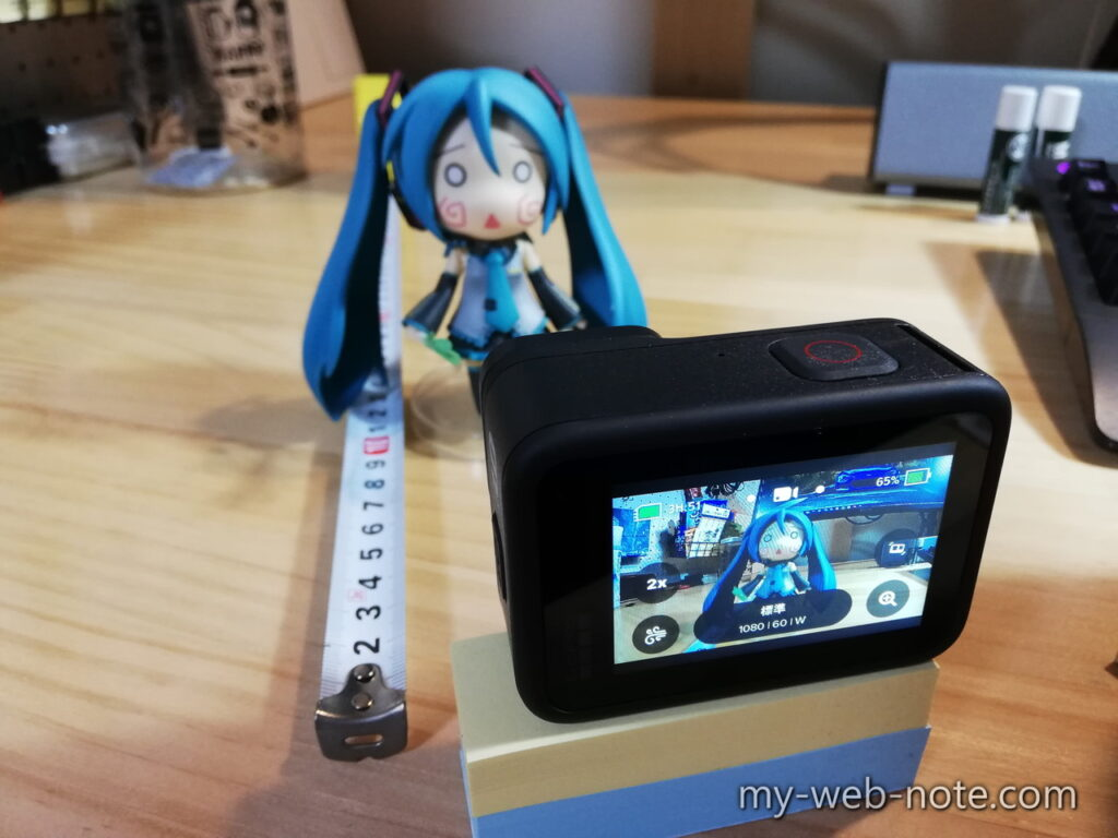 GoProにはピント調整がない!