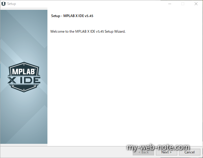 Setup - MPLAB X IDE