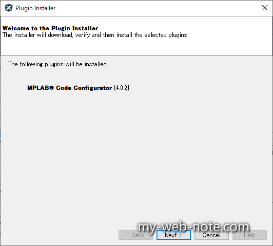 Welcome to the Plugin Installer