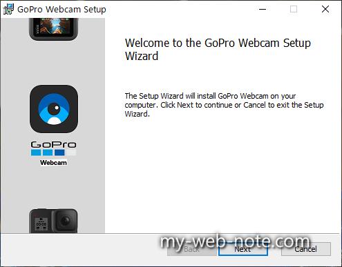 GoPro Webcam Setup