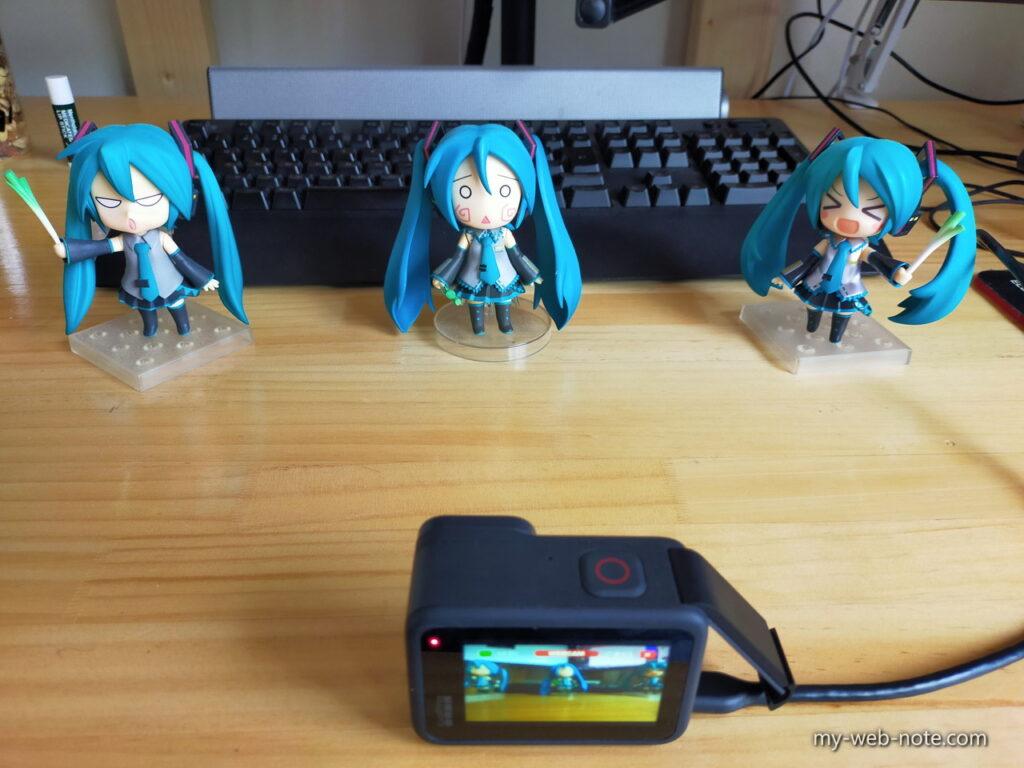 GoPro WEBカメラ レンズモード・テスト