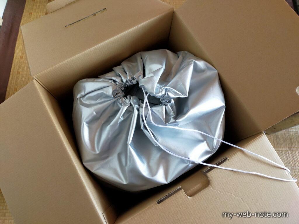 「カバーライト」ボディカバー / 梱包物1