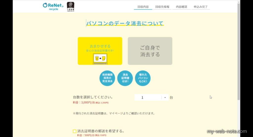 リンネットジャパン申し込み方法4